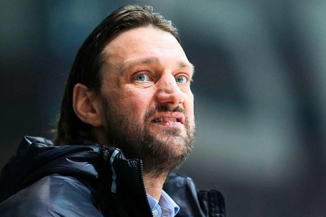 Neu-Trainer Robert Hoffmann  | Foto: EIBNER/rrz