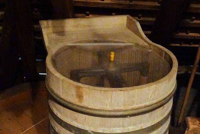 Die Buttermaschine diente als Inspiration für die Waschmaschine