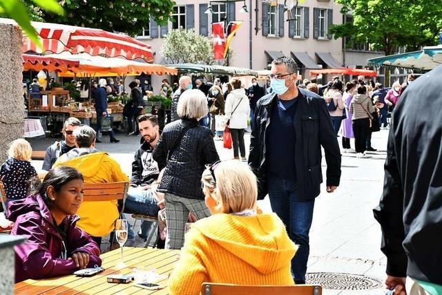 Außer in der Lörracher City läuft es in der Gastronomie im Kreis noch zäh