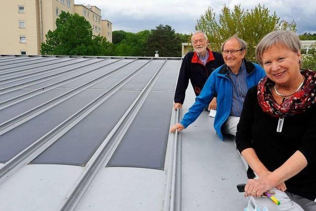 Solarstrom finanziert Projekte am Denzlinger Gymnasium