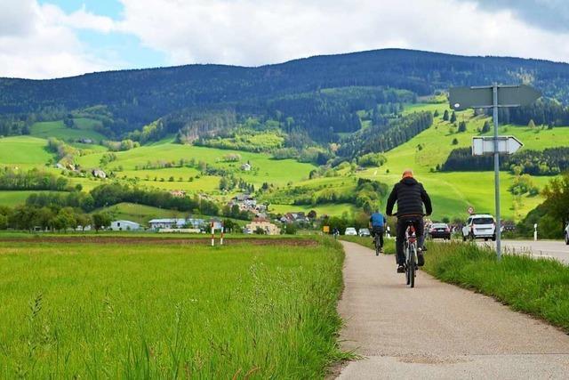 Radweg zwischen Oberried und Kirchzarten wird länger und breiter