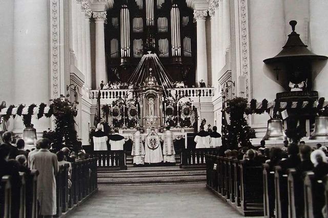 Als der Dom in St. Blasien wieder eine Stimme erhielt