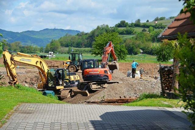 395 Euro je Quadratmeter kostet das Bauland in Niederrimsingen