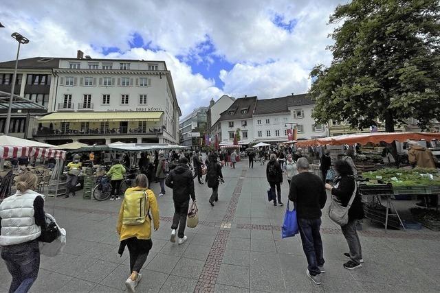 Der Marktplatz war wieder Piazza