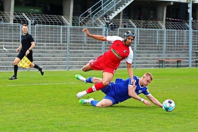 SC Freiburg II : Torloses Unentschieden trotz klarem Chancenplus in Kassel