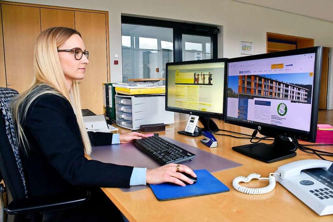 Modernste Technik macht die Verwaltung von 5000 Wohnungen effizient.   | Foto: Thomas Kunz