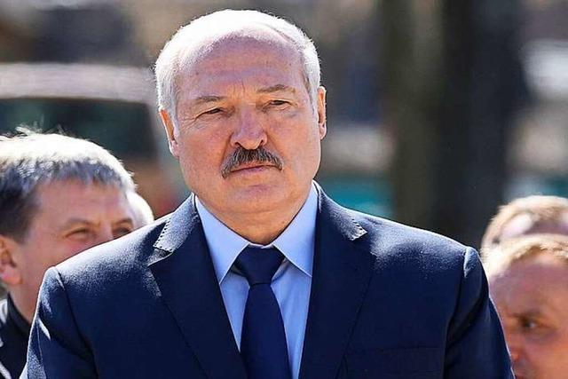 Lukaschenko muss nun international geächtet werden