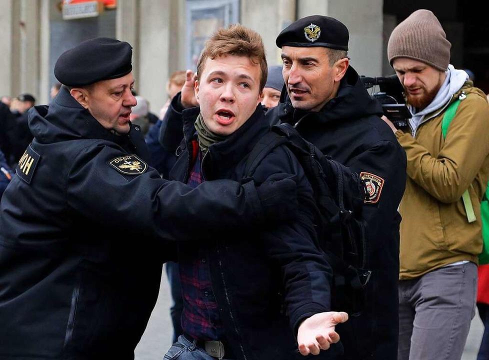 Belarus: Wer ist der entführte Blogger Roman Protassewitsch?