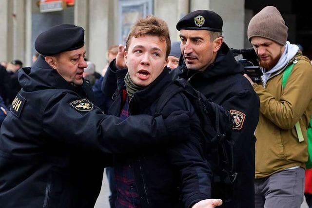 Wer ist der festgenommene Blogger Roman Protasewitsch?