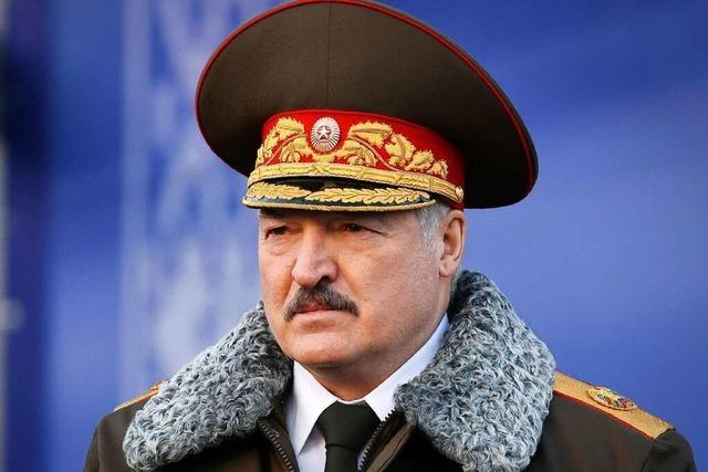 Der Minsker Machthaber bleibt bislang unbeeindruckt