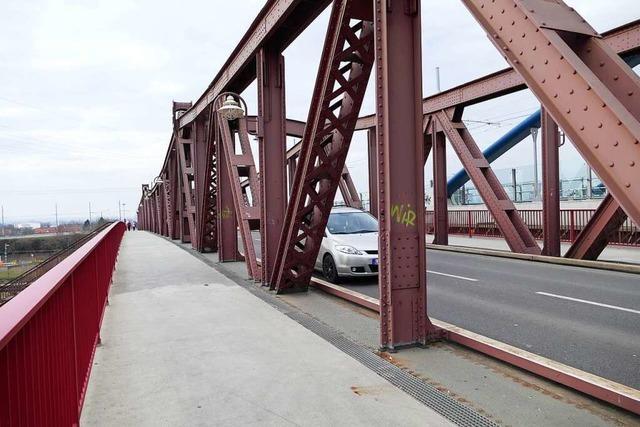 Am Mittwoch wird die Hauptstraße bei der Friedensbrücke in Weil gesperrt