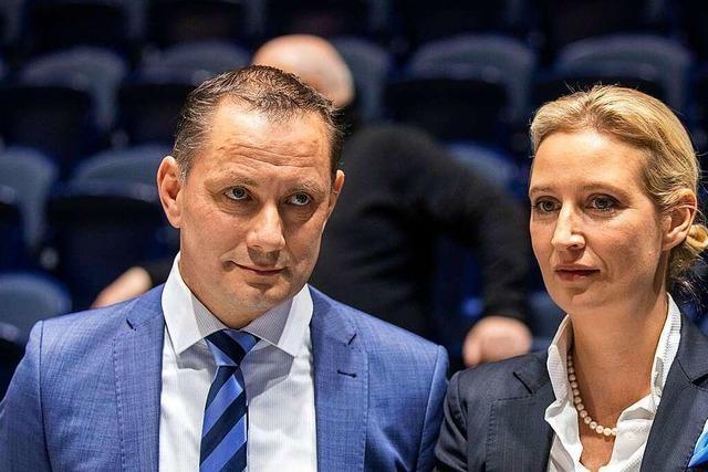 AfD zieht mit Alice Weidel und Tino Chrupalla als Spitzenkandidaten in den Wahlkampf