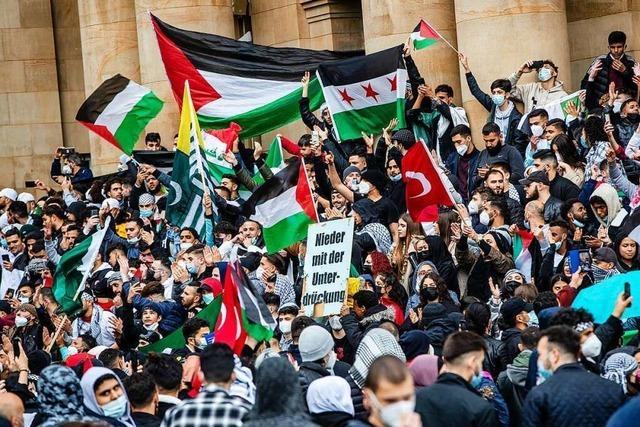 Pro-Palästina-Demos im Südwesten: