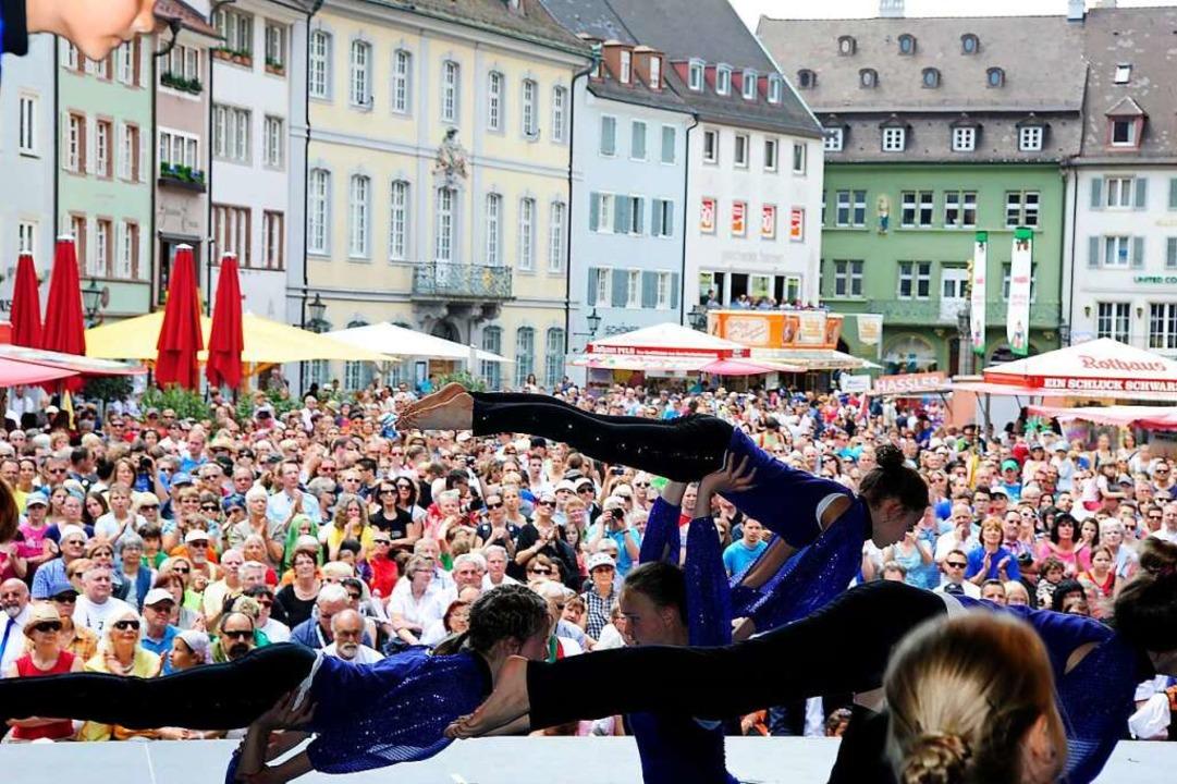 Eindrücke vom Landesturnfest 2014 in Freiburg  | Foto: Thomas Kunz