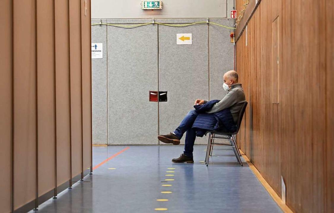 Im Impfzentrum wird es ruhiger.    Foto: Christoph Breithaupt