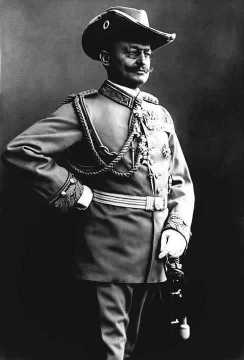 Theodor Leutwein,  bis 1905 Gouverneur...eutsche Herrschaft in der Kolonie aus.  | Foto: ullstein bild
