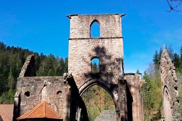 Zwischen Allerheiligen und Oppenau gibt es Wasserfälle und eine Klosterruine
