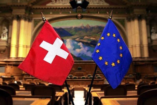 Brüssel und Bern können ihre Differenzen nicht beilegen