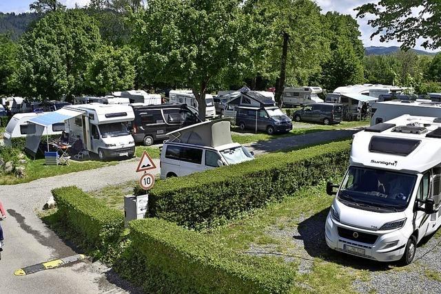 Wohnmobile rollen wieder durch Freiburg