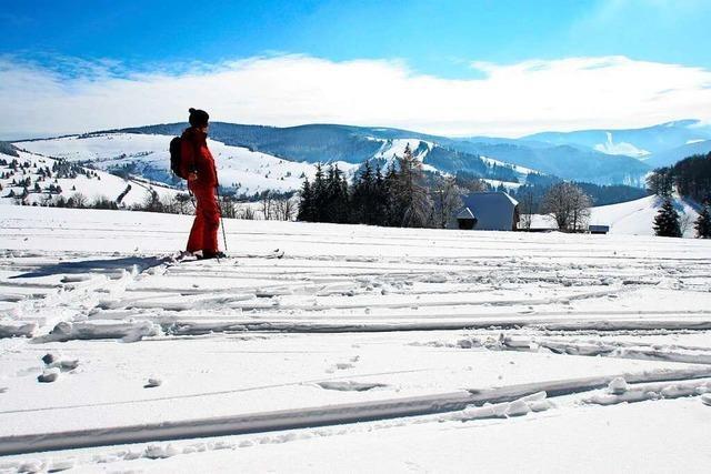 Die Kaltwasserabfahrt am Schauinsland klappt nur bei viel Schnee