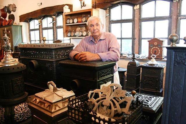 Das Ofenmuseum in Hugstetten ist ein bunter Mikrokosmos aus altem Eisen