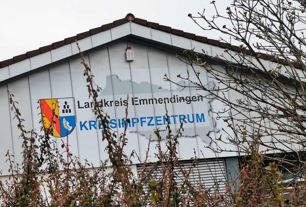 Das Kenzinger Kreisimpfzentrum befindet sich in einer ehemaligen Aldi-Filiale.  | Foto: Patrik Müller