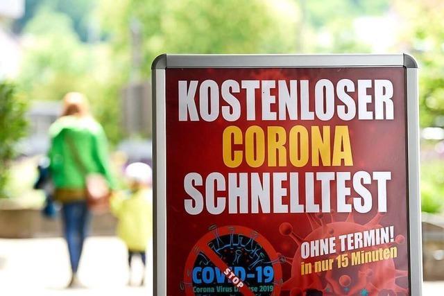 Auch in Freiburg wächst der Zweifel an der Seriosität von Testzentren