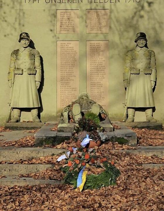 Das Kriegerdenkmal in Kollnau  | Foto: Markus Zimmermann