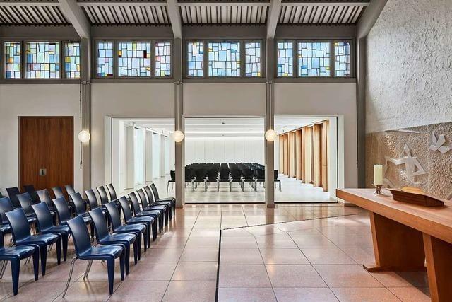 Das Zentrum der Johannesgemeinde in Weil wird mit einem Häring-Preis ausgezeichnet