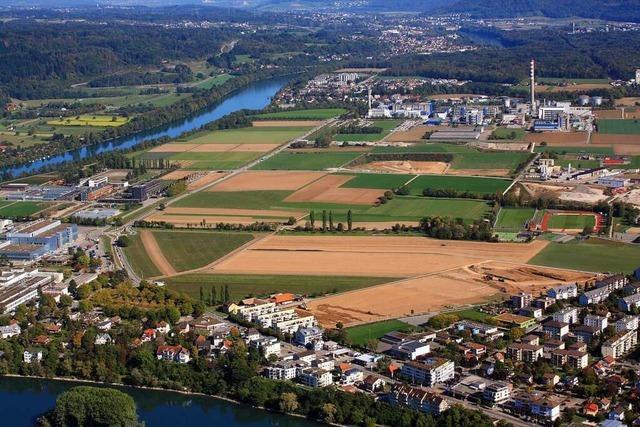 Kanton Aargau plant 15 000 Arbeitsplätze auf dem Sisslerfeld
