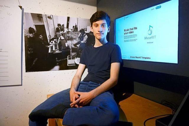 Wie ein 17-jähriger Freiburger Filmmusik Marke Eigenbau vermarktet