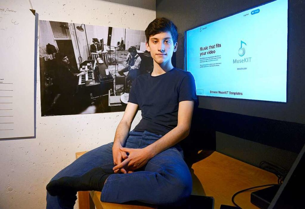Die passende Musik für ein Video mit w...Leonard Darsows Plattform ermöglichen.  | Foto: Ingo Schneider