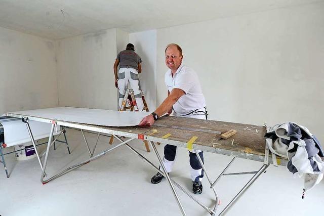Der Freiburger Malerbetrieb Eugen Knosp existiert schon seit der Kaiserzeit