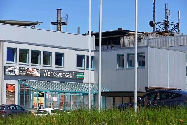 Betrieb in der Fleischfabrik Adler in Bonndorf läuft nach Großbrand wieder an