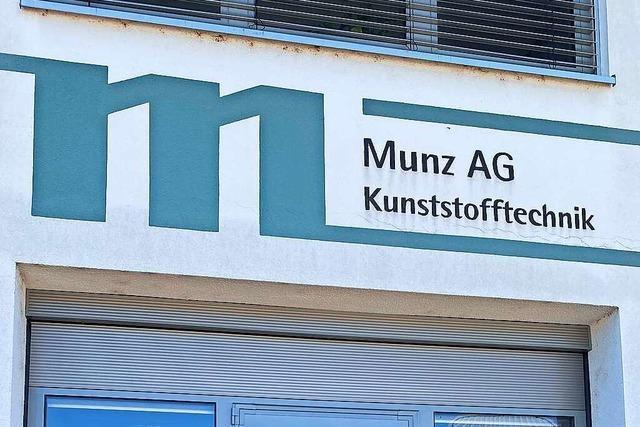 Munz AG Kunststofftechnik in Binzen hat sich zu einem Global-Player entwickelt