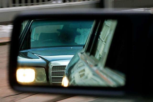 Polizei sucht Zeugen einer Nötigung auf der A98 bei Lörrach