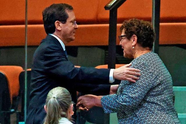 Israels Parlament wählt Izchak Herzog zum neuen Staatspräsidenten