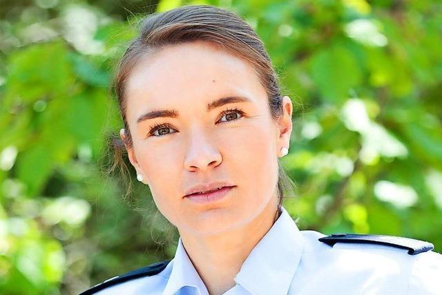 Jeanette Schütz leitet seit April den Polizeiposten Staufen