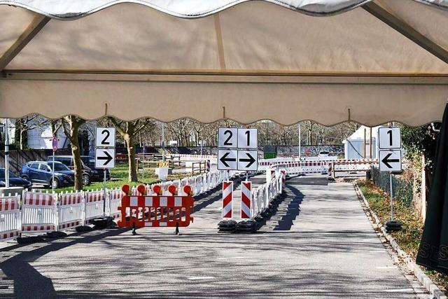 Die Fieberambulanz in Lörrach hat am Freitag zum letzten Mal geöffnet