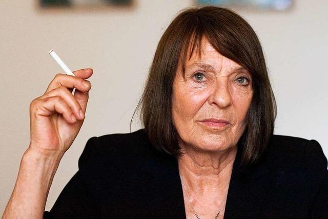 Die Schriftstellerin Monika Maron wird 80