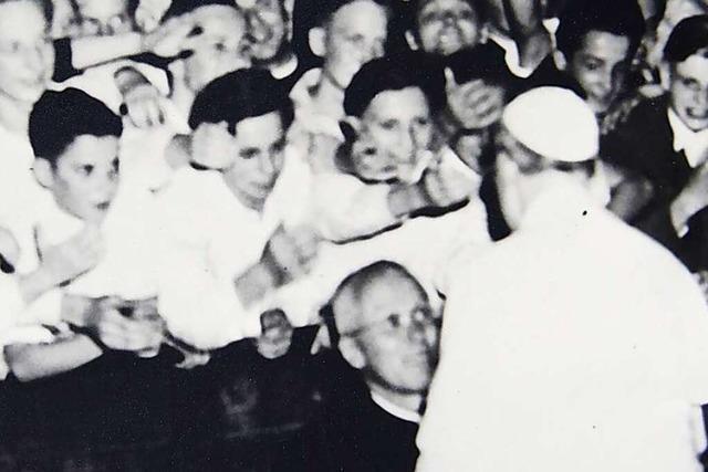 Wie das Kolleg St. Blasien vor 70 Jahren nach Rom fuhr, um dem Papst zu danken