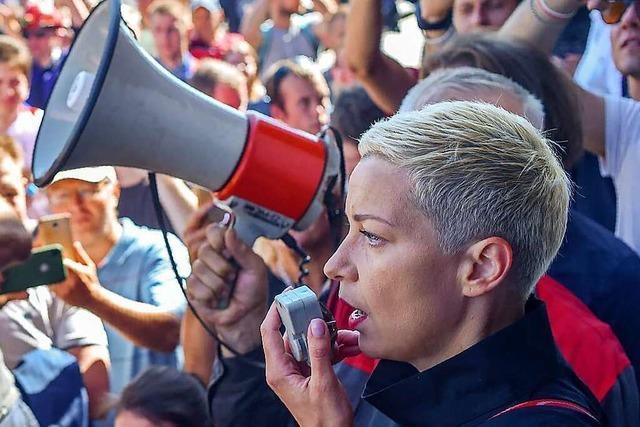Wie eine Musikerin in Belaraus zur Ikone gegen die Diktatur wurde