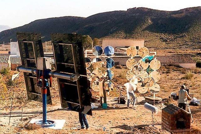 Ein Grenzach-Wyhlener will mit Kunst Sonnenenergie gewinnen