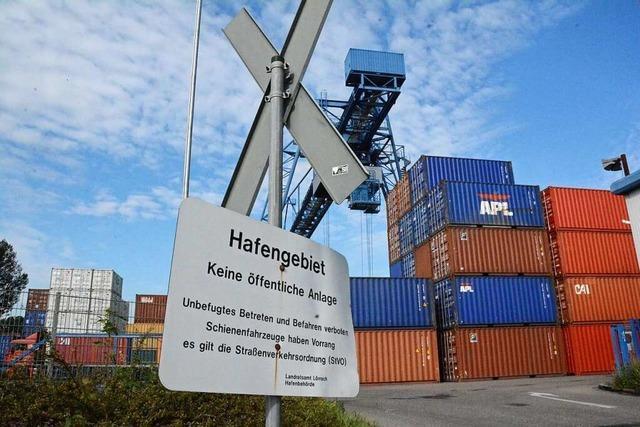 Contargo übernimmt Containerhafen des Weiler Rheinhafens