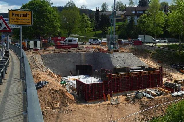 Neustadts Eingang hat jetzt die zweite Großbaustelle