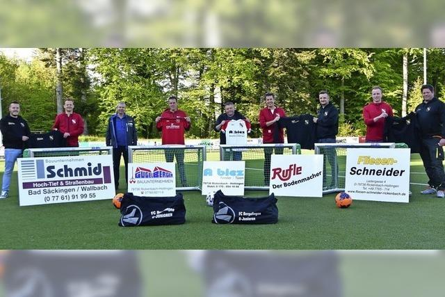 Jugend des FC Bergalingen freut sich über 10 000 Euro
