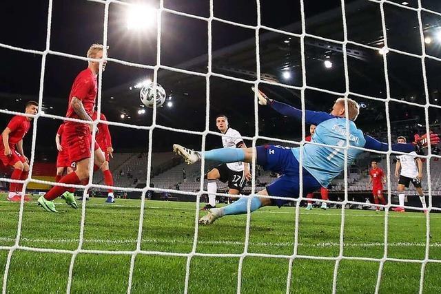 Dunkle Wolke über dem Bergdorf – deutsche Kicker beim 1:1 gegen Dänemark noch nicht in EM-Form