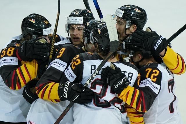 Mit Leidenschaft ins Halbfinale: Eishockey-Team besiegt Schweiz