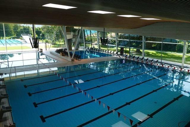 Offenburger Hallenbad kann wieder öffnen – doch das 25-Meter-Becken wird noch saniert