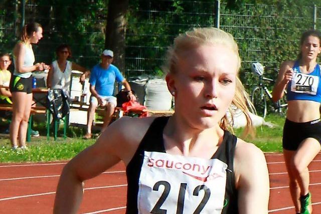 Sophia Sommer und Valerie Koppler vertreten den USC Freiburg bei der deutschen Leichtathletikmeisterschaft